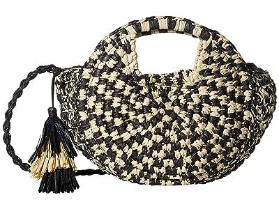 Lucky Brand Inly Circle Crossbody (Black/Natural) Handbags