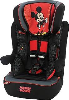 Silla de coche para Bebe IMAX grupo 1/2/3 (9-36kg) con proteccion lateral y el reposacabezas ajustable -Mickey