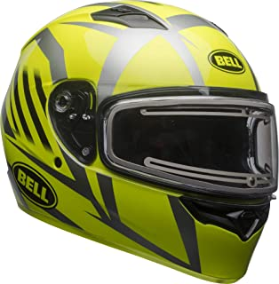 Bell Qualifier Electric Shield Snow Helmet (Blaze Gloss Yellow/Titanium, XXX-Large)