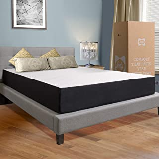 Sealy, 10-Inch, Hybrid Bed in a Box, Adaptive Comfort Layers, Medium-Firm Feel, Memory Foam Mattress, King