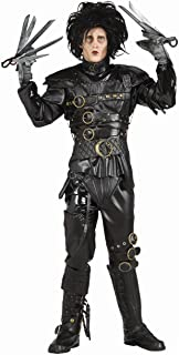 Rubies Mens Deluxe Edward Scissorhands Grnd Herit Theme Party Costume