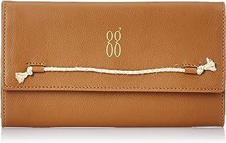 Baggit Spring-Summer 2021 Faux Leather Women's 3 Fold Wallet (Tan) (Polen)