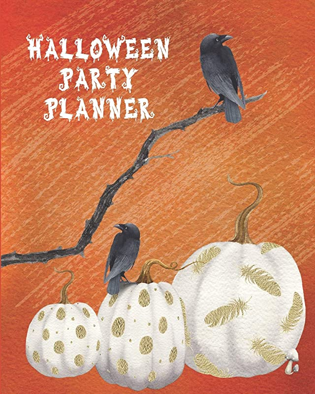 友情反発レンドHalloween Party Planner: Themed Event Planner + October Daily Planner Crows