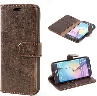 s6 edge wallet flip cover