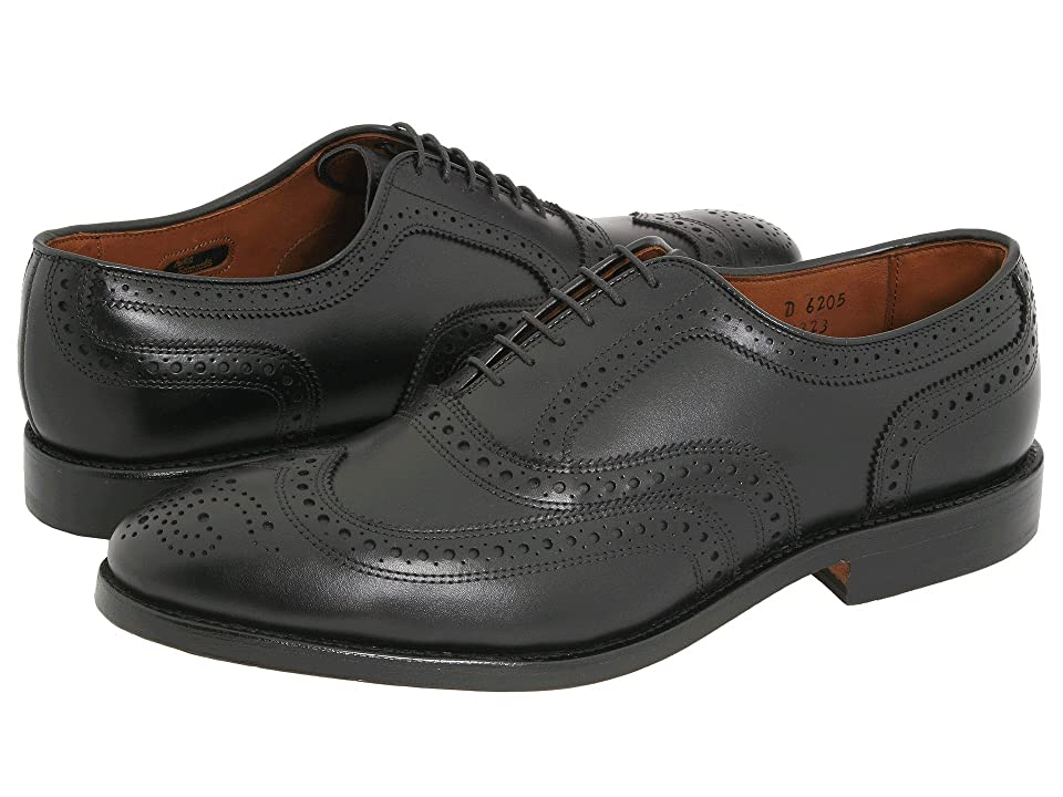 1940s Mens Shoes | Gangster, Spectator, Black and White Shoes Allen Edmonds McAllister Black Calf Mens Lace Up Wing Tip Shoes $394.95 AT vintagedancer.com