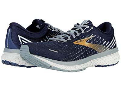 Brooks Ghost 13 (Peacoat/Grey/Gold) Men