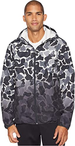 Camo Dipped Windbreaker