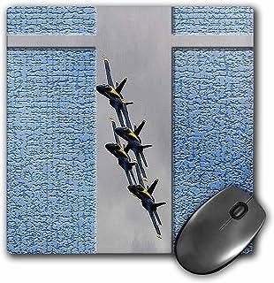 3dRose LLC 20.3x 20.3x 0.6cm لوحة ماوس ، أزرق Angels بأسعار في airshow في جنوب يوتا مع أزرق/رمادي (MP _ 45372_ 1)