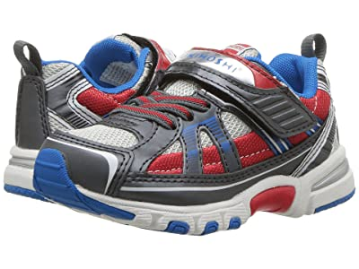 Tsukihoshi Kids Storm (Toddler/Little Kid) (Graphite/Red) Boys Shoes