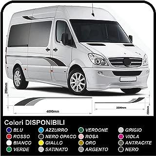 Pegatinas para autocaravanas y minibuses vinilo pegatinas calcomanías Caravan kit pegatinas con pegatinas para autocaravanas gráficos 30 (COLORES COMO EN FOTOS)