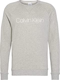 Calvin Klein Long Sleeved Sweatshirt Loungewear Medium Grey Heather