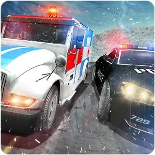 Ambulance Police Car Drift Rescue Driving Fun Game