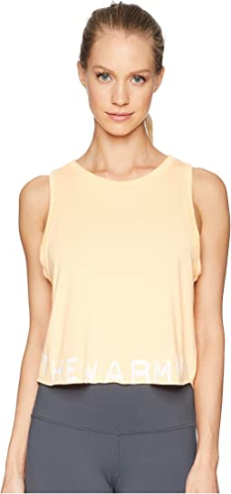 Branded Cropped Tank Top