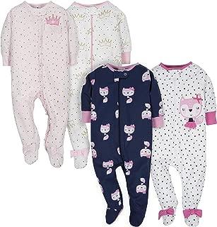 Baby Girls' 4-Pack Sleep N' Play