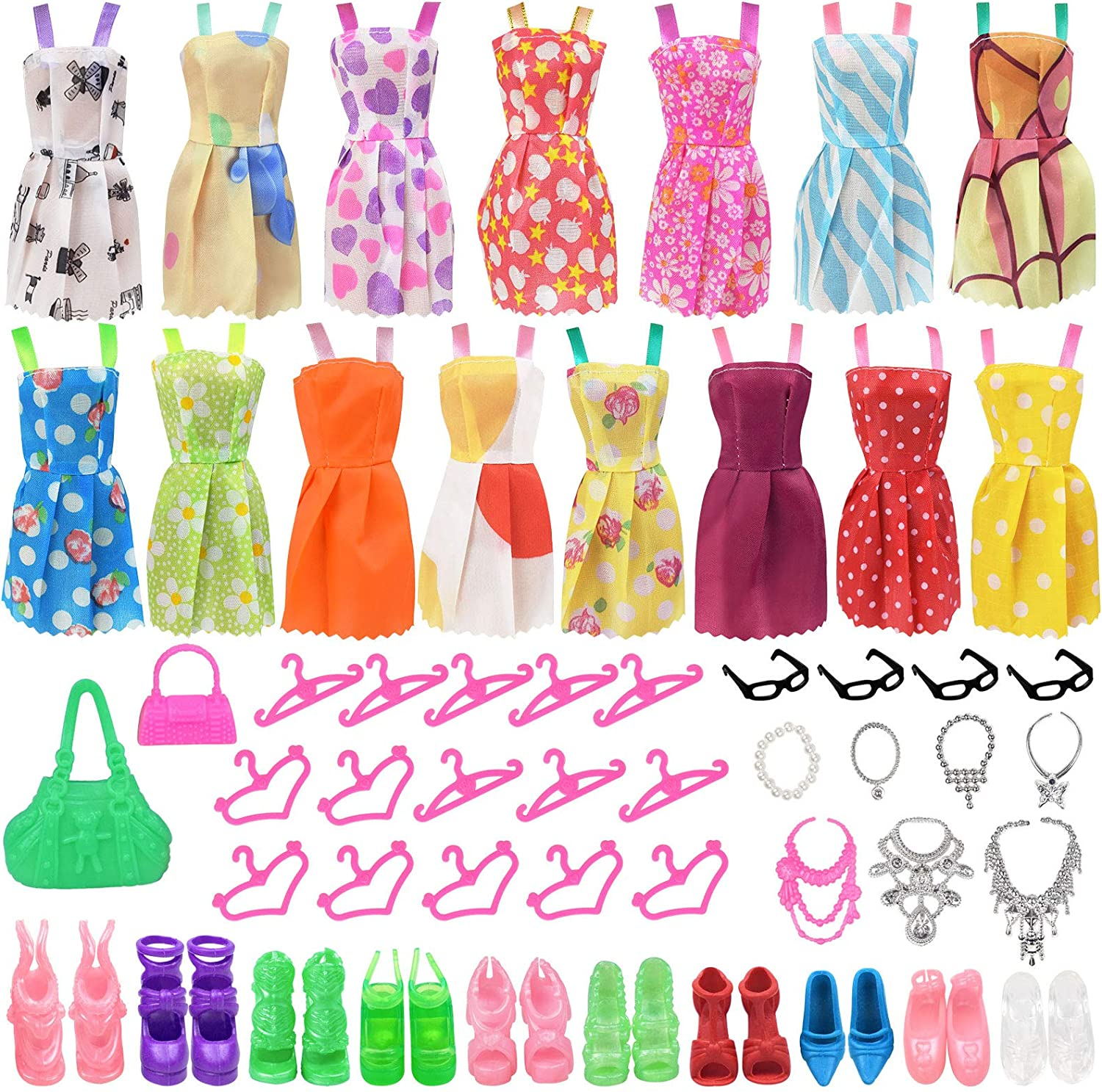 zheyistep Doll Clothes for 11.5 Ranking TOP16 Bargain sale Girl Pcs 53 Inch Acces