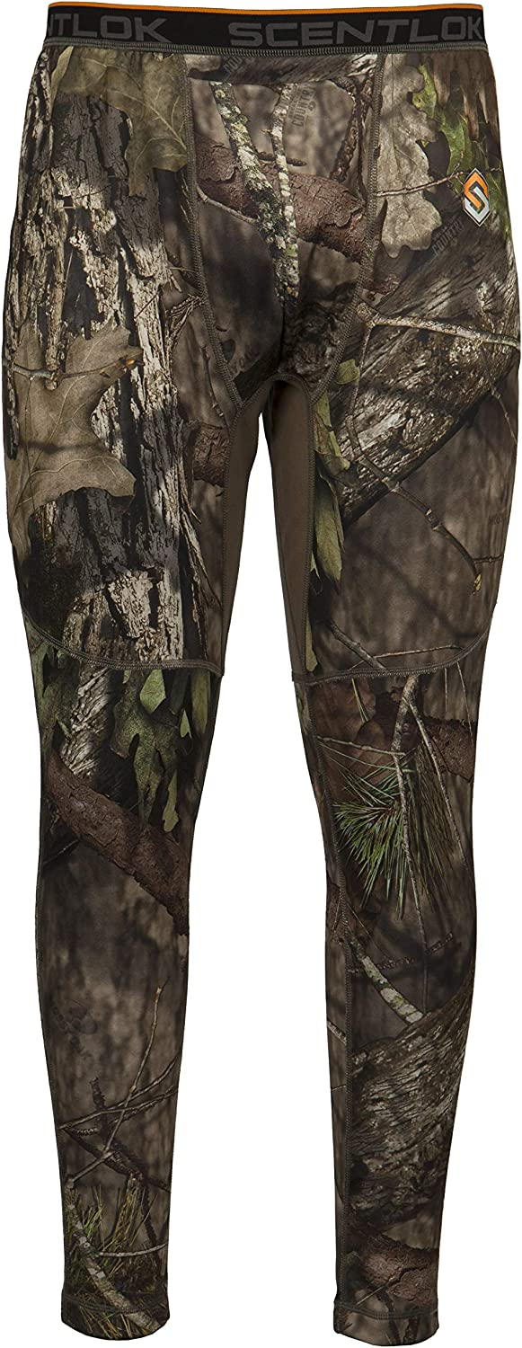 ScentLok BaseSlayers Heavyweight Base-Layer Bottoms, Thermal Pants for Men and Women