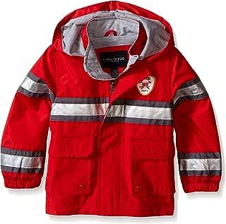 Little Boys' Toddler Fireman Rain Slicker