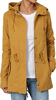 TheMogan Military Washed Twill Hooded Utility Anorak Jacket Outer S~3XL
