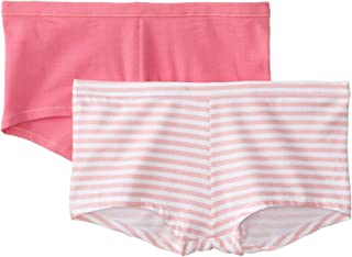 Women's Cotton Stretch Boy Brief Panty (Pack of 2)