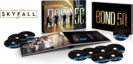 Bond 50: The Complete 23 Film Collection with Skyfall