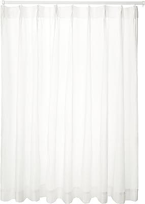 ユニベール ミラーレースカーテン ホワイト 幅150×丈228cm 1枚 HAZ-L0034