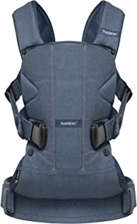BABYBJORN Baby Carrier One - Classic Denim/Midnight Blue, Cotton