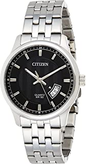 Citizen Mens Quartz Watch, Analog Display and Stainless Steel Strap - BI1050-81E