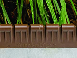 Guard-n-Edge Brown Protective Cover for Metal Lawn Edging   Includes 30 Feet of Protective Edging Cover   Safe and Decorative Landscape Edging