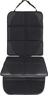 8safe Protector de Alta Calidad para Asiento de Coche | Nueva Version All-Black | Antideslizante y Resistente | ISOFIX Compatible | Material Oxford 600D | Tamaño ideal para Turismos/SUV