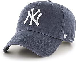 '47 Brand New York Yankees Clean Up Dad Hat Cap Vintage Navy/White