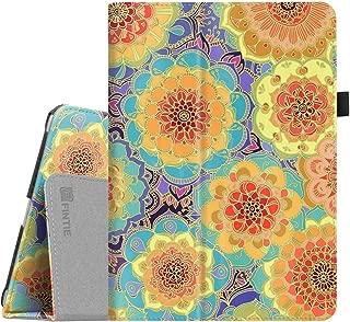 Fintie iPad 9.7 2018/2017, iPad Air 2, iPad Air Case - [Corner Protection] Premium Vegan Leather Folio Stand Cover, Auto Wake/Sleep for iPad 6th / 5th Gen, iPad Air 1/2, Summer Dahlia