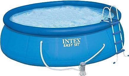 Agreable Kit Piscine Autoportante INTEX Easy Set 4.57 X 1.22M