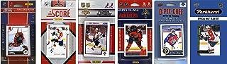 C&I Collectables NHL Florida Panthers 男式 6 种不同的*交易卡团队套装,白色