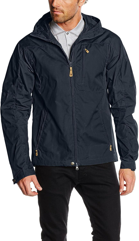 Fjallraven Outdoor Jacket Mens Sten Durable L Dark Navy F81679