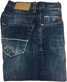 CARE LABEL Jeans Uomo 402 Slim Lavaggio heritage01 12 oz Blue Line Made in Italy