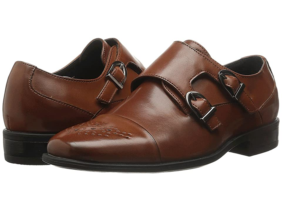 Stacy Adams Kids Trevor (Little Kid/Big Kid) (Cognac) Boys Shoes