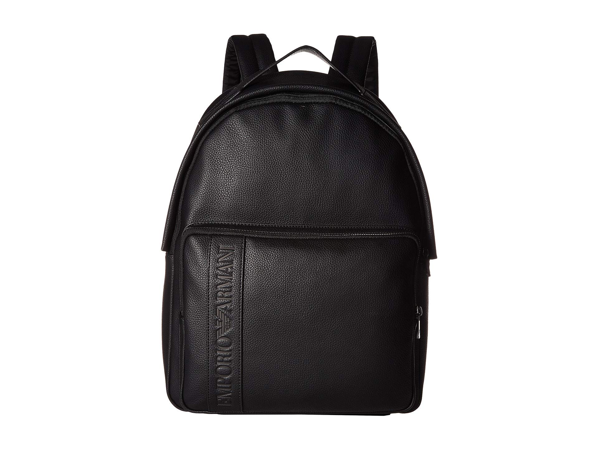 Emporio Armani Grain Backpack at Luxury.Zappos.com a2fb3ff371049