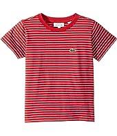 Short Sleeve Striped Tee Shirt (Toddler/Little Kids/Big Kids)