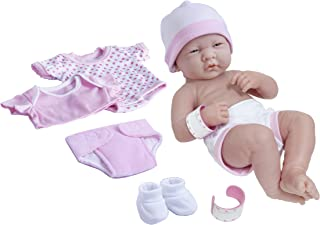 "La Newborn Nursery 8 Piece Layette Baby Doll Gift Set, featuring 14"" Life-Like.."