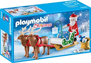 Playmobil Christmas SANTA  W// MILK /& COOKIES LEFT OUT FOR HIM ON HOLIDAY TABLE