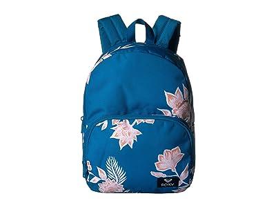 Roxy Always Core Backpack (Mykonos Blue S Eglantine) Backpack Bags
