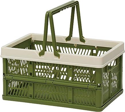 折叠 堆叠 容器盒 绿色 Small 400729803