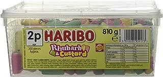Haribo Rhubarb and Custard Candy 300 Pieces