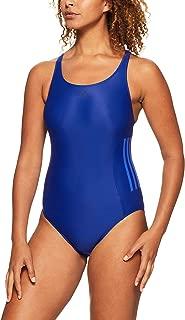 Adidas Women's Infinitex Essence Core 3-Stripes 1 Piece Swimsuit