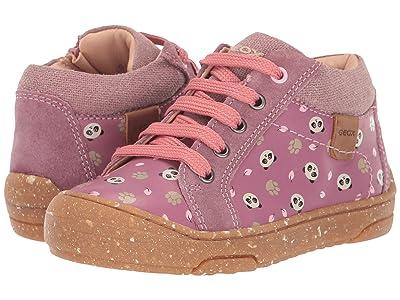 Geox Kids Geox x WWF Jay J 3 (Toddler) (Dark Pink) Girls Shoes