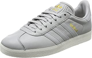 adidas Womens Originals Gazelle Trainers Sneakers in Grey Two.
