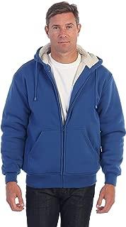 Gioberti Men and Women Heavyweight Sherpa Lined Fleece Hoodie Jacket