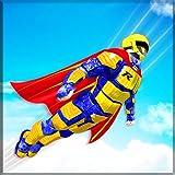 Flying Hero Robot Transform Rescue Survival Games
