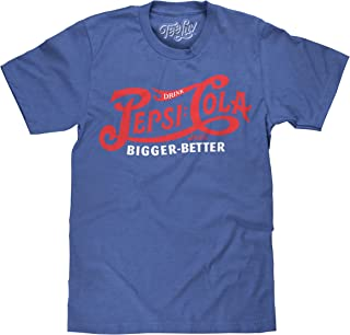 Drink Pepsi Cola T-Shirt - Royal Blue Heather Pepsi Shirt