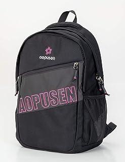 حقيبة ظهر مدرسية للاطفال من انبراند مقاس 17 انش, , اسود وأحمر - 686754132879